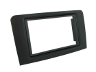 2-DIN ramme til Mercedes ML W164 2005-2010, sort.(260 CT23MB16)