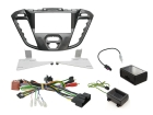 2-DIN kit  Nebula pianosort ramme, Ford Transit Custom 2012>(260 CTKFD42)