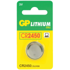 CR2450 3V til SAPHE & Parkeringsure(452 CR2450-C1)