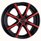 MAK milano 4 Black And Red Metallic(286183)