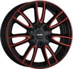 MAK jackie Anodized Red Black(222834)