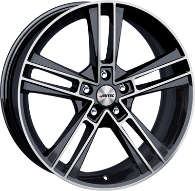 Autec rias Black Metallic Polished