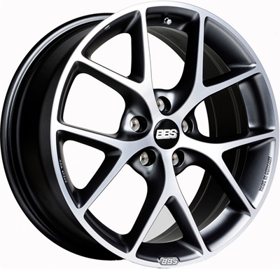 Bbs sr Volcano Grey - Diamond Cut