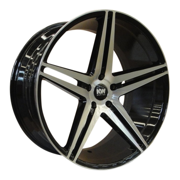 KW-SERIES S10 CONCAVE black/polished