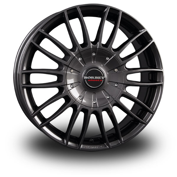 Borbet CW3 Antrazit mistral anthracite glossy