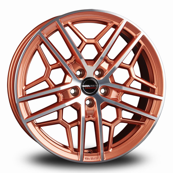 Borbet GTY Copper Polished COPPER POLISHED GLOSSY