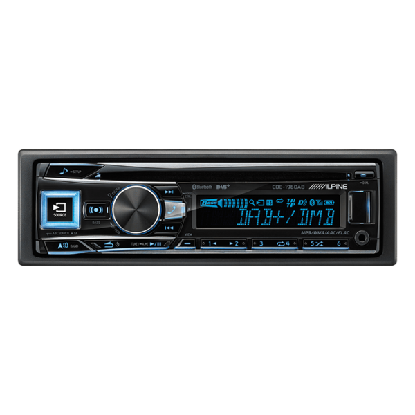Alpine CDE196DAB CD/TUNER BLUETOOTH & DAB