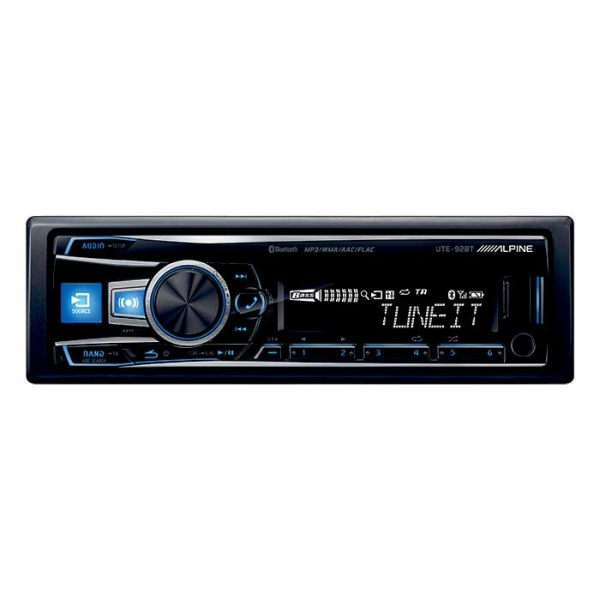 Alpine UTE92BT TUNER/IPOD BLUETOOTH