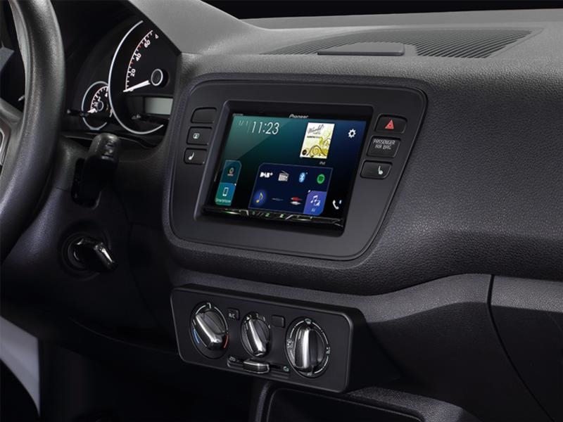 Radioramme VW UP Mat Sort , 2-DIN.