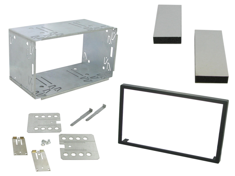Universalt 2-DIN kit 100 mm.