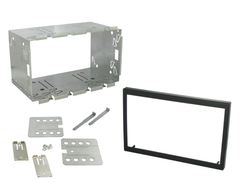Universalt 2-DIN kit 110 mm.
