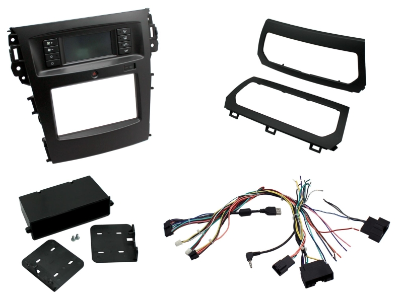 2-DIN pro kit til Ford Explorer 2012-.
