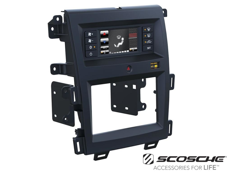 2-DIN pro kit til Ford Edge 2011-.