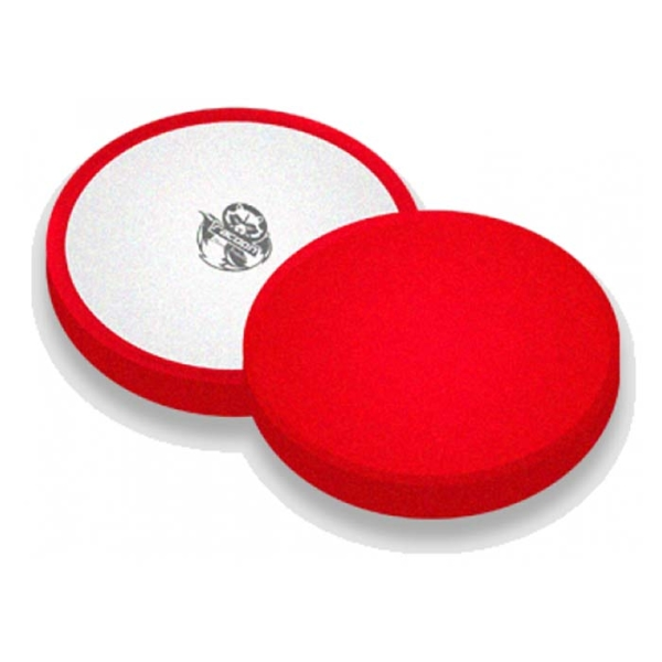 RACOON POLISHING PAD RED - HARD 150MM POLERINGSPUDE