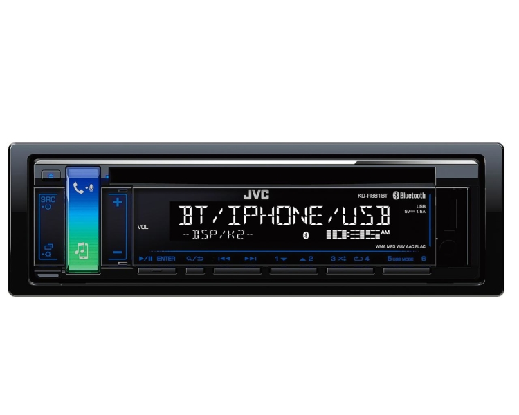 JVC KD-R881BT CD/RDS TUNER M. BLUETOOTH