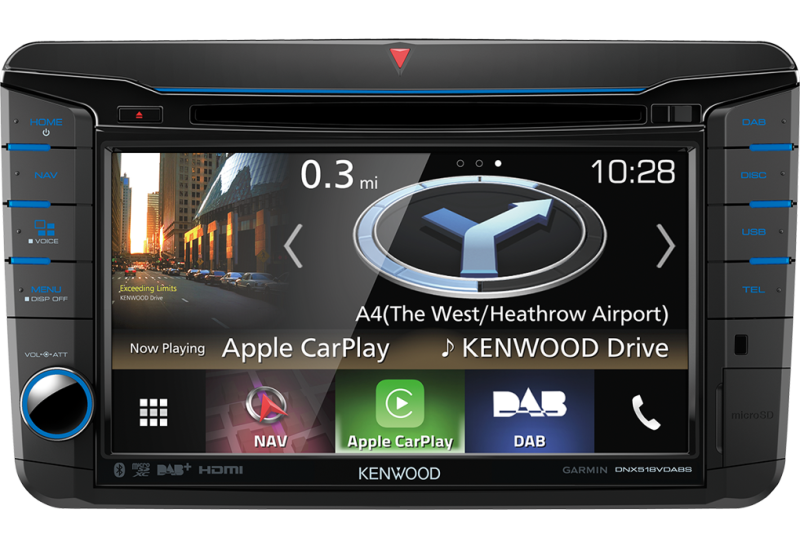 Kenwood DNX518VDABS