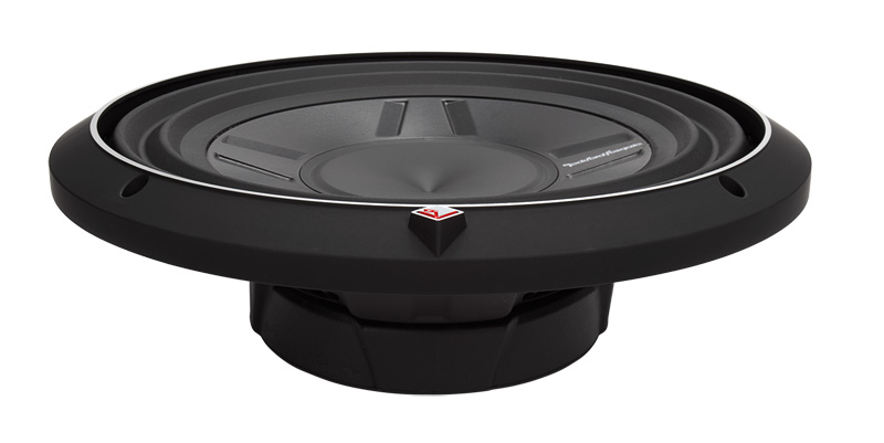 "Rockford Fosgate P3SD4-12 subwoofer DVC 12"" shallow"