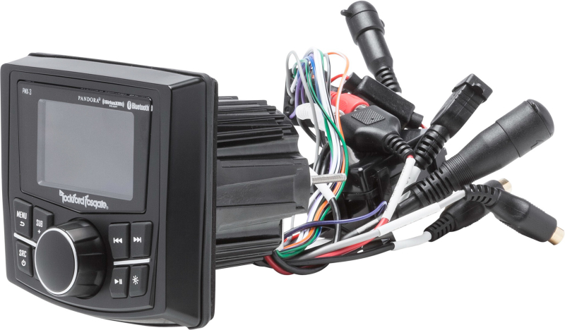 ROCKFORD FOSGATE Marine Source Unit PMX-3
