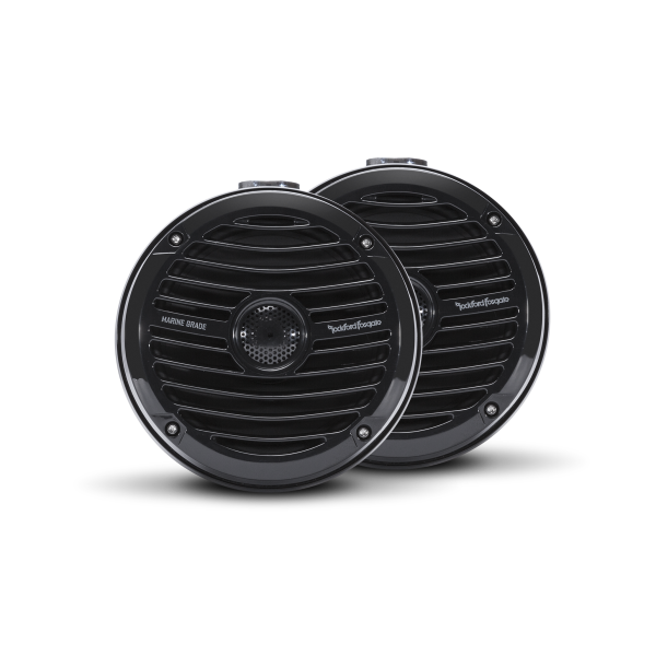 ROCKFORD FOSGATE Marine Wakeboard Speakers RM1652W-MB mini