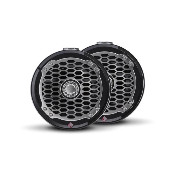 ROCKFORD FOSGATE Marine Wakeboard Speakers PM2652W-MB mini