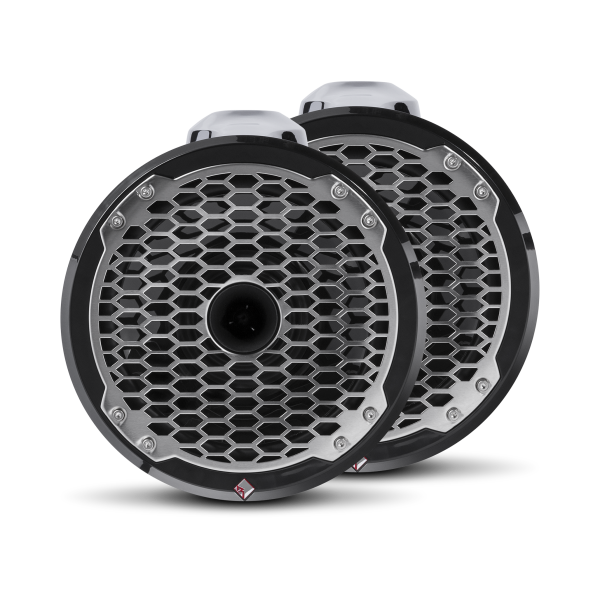 ROCKFORD FOSGATE Marine Wakeboard Speakers PM282HW-B
