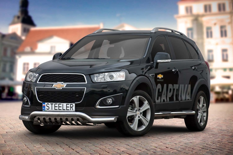 Sort Frontrør til CHEVROLET CAPTIVA 2012 - 2015